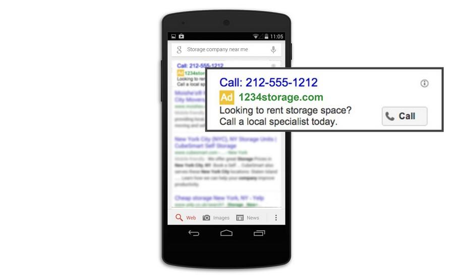 Реклама на мобильных устройствах adwords