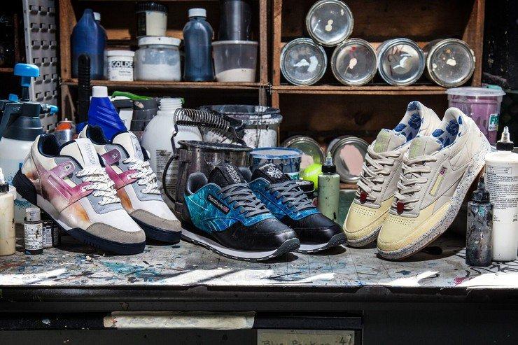 70d8e0c78302 Четыре подростка получили предложение оплачиваемой творческой работы и  создали три модели кроссовок бренда. Джонатан Вергара в модели Classic  Leather ...