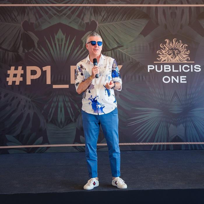 Привітання від Міши Лукіча, CEO Publicis One Central & Eastern Europe