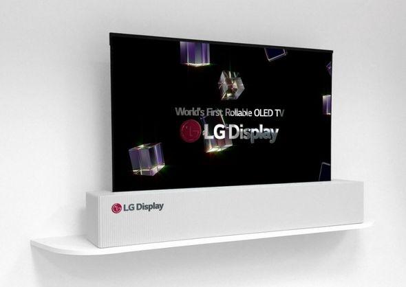 Так выглядит концепт телевизора LG Фото: lgdisplay.com