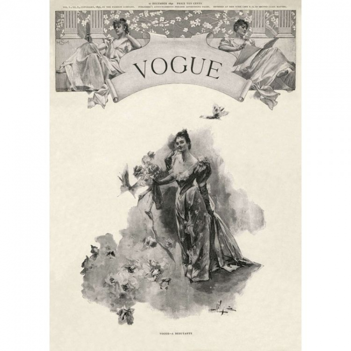 Дебютный номер американского Vogue, 17 декабря 1892 года. Изображение: Conde Nast International