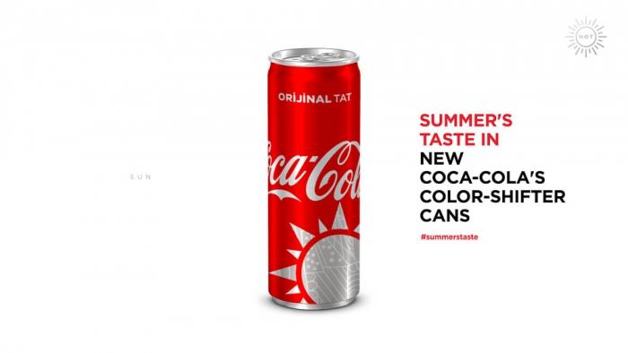 Coca-Cola меняет цвет