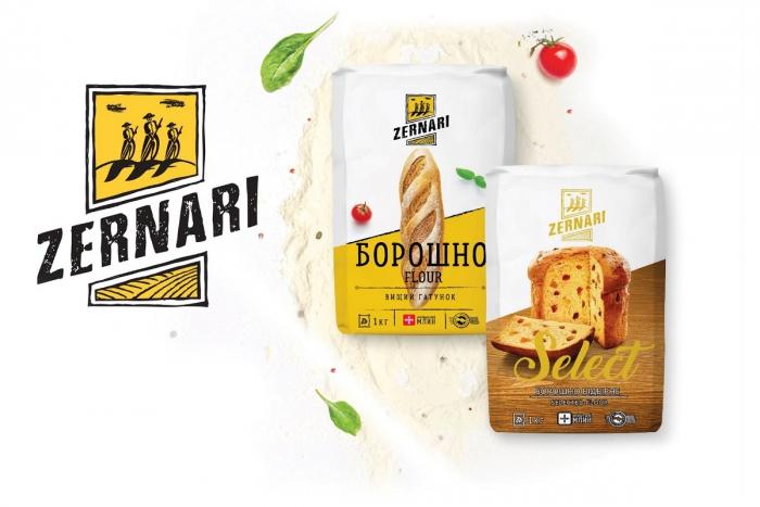 Leo Burnett Ukraine разработало айдентику для бренда Zernari