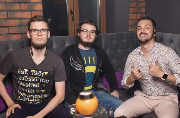 Основатели компании: Богдан Матвеев (CTO), Владислав Уразов (CEO), Виктор Кох (Strategy)