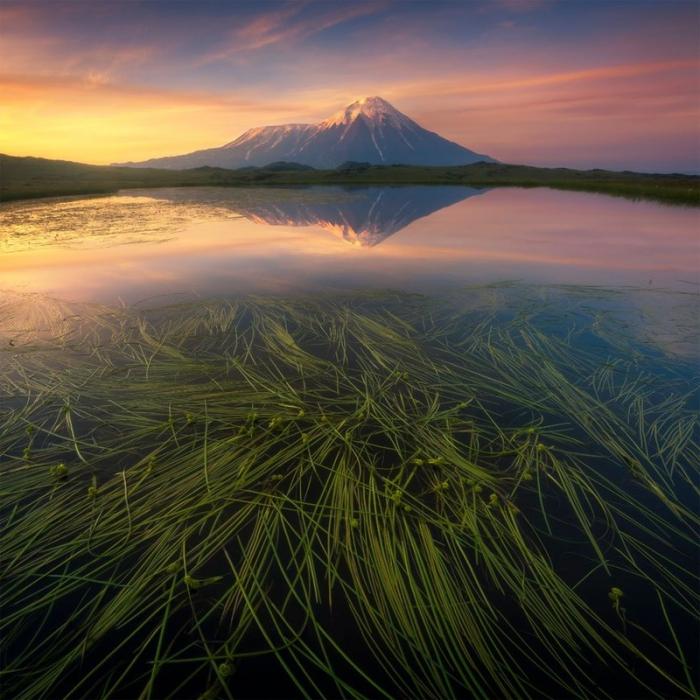 Толбачик — вулканический массив на востоке Камчатки