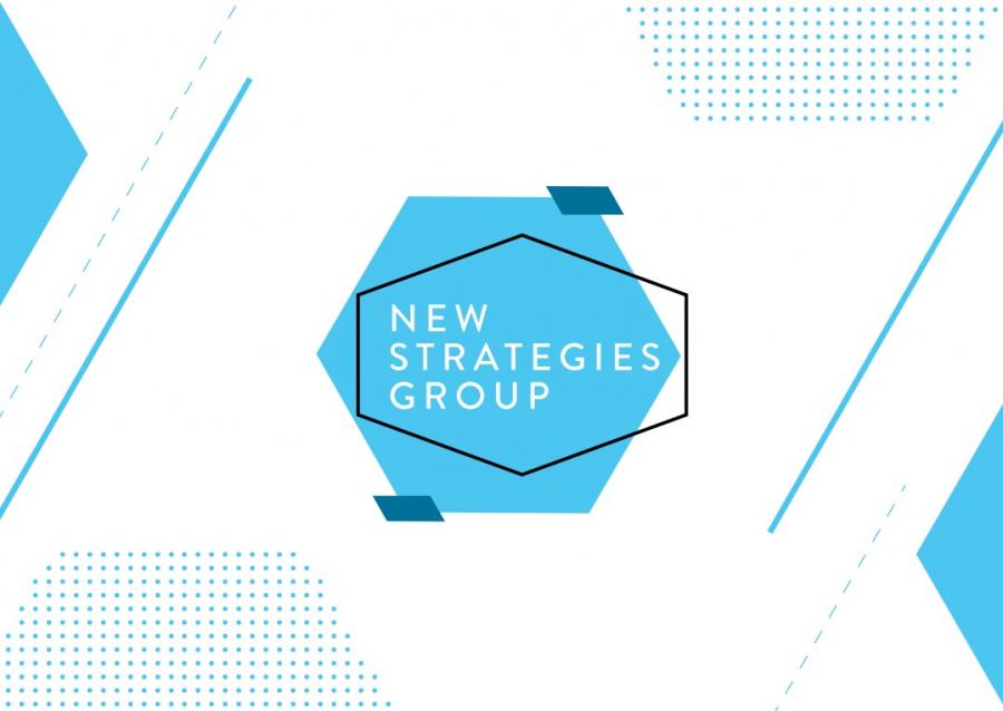 Новый визуальный стиль подчеркнул изменения в New Strategies Group