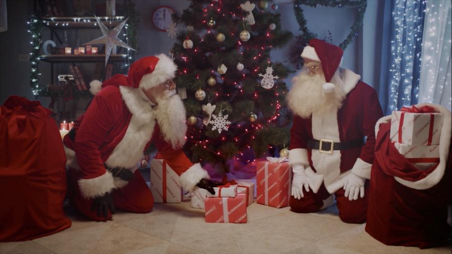 BBDO Ukraine создало для Eldorado ролик с двумя Сантами