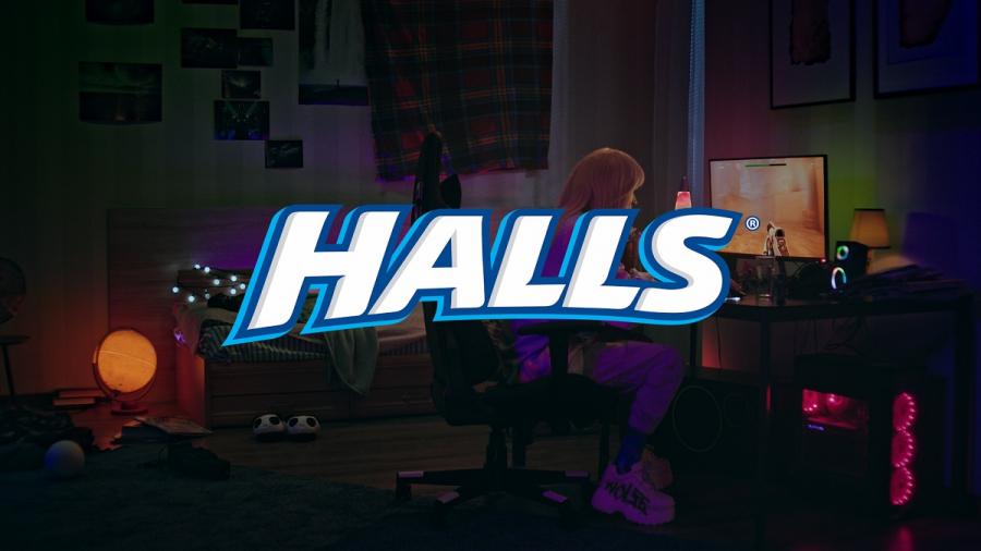 Новый креатив от Halls для любителей Dota