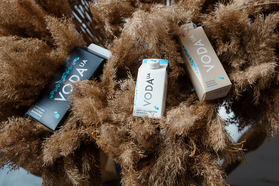 VODA UA перейшла на еко-упаковку