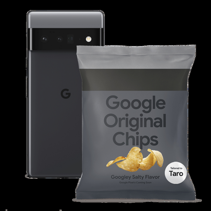 Google выпустила чипсы в дизайне смартфонов Pixel 6