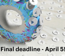 Белый Квадрат: Final deadline – april 5! Your moment is now
